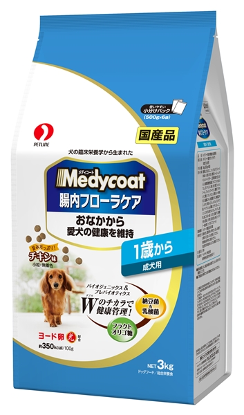 メディコート<腸内フローラケア>1歳から 成犬用