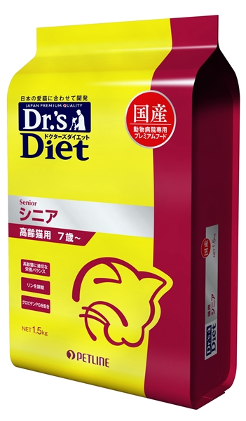 ドクターズダイエット 猫用シニア
