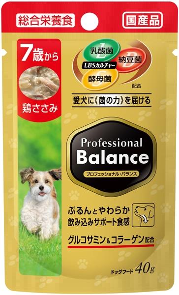 プロフェッショナル・バランス パウチ 7歳から高齢犬用 鶏ささみ